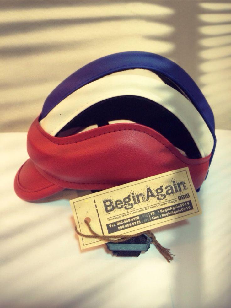 Vintage Bike Helmets by BeginAgain0919 ID: BG06