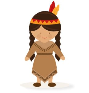 Thanksgiving Girl Native American SVG scrapbook cut file cute clipart files for silhouette cricut pazzles free svgs free svg cuts cute cut files