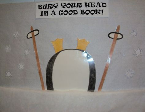 winter bulletin board ideas | Winter Library Bulletin Board Idea ...