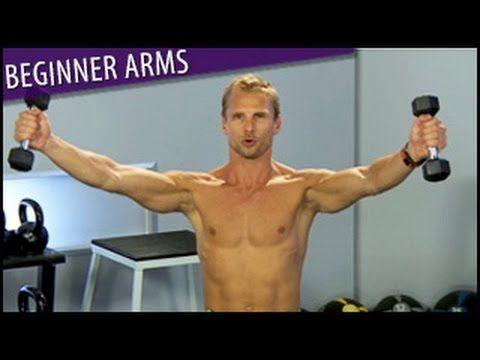 4/24/17 Beginner Arms Workout: Arm Flab Blaster- Steve Jordan - YouTube