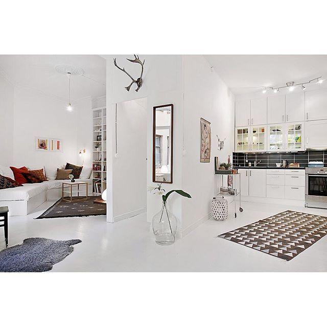 1000  ideeën over klein appartement keuken op pinterest   klein ...
