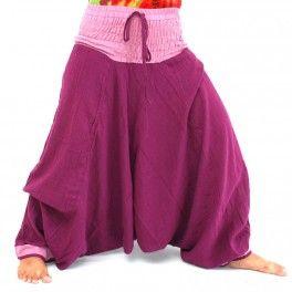 Aladdin pants, genie pants