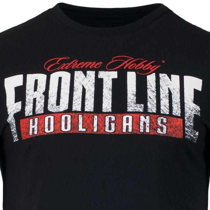 Motyw kibicowski na koszulce 'Front Line' ---> Streetwear shop: odzież uliczna, kibicowska i patriotyczna / Przepnij Pina!