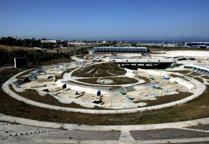 Quatre sites olympiques laissés à l'abandon