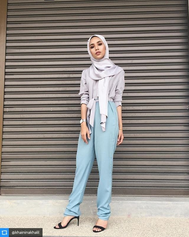329 best Hijab Fashion images on Pinterest  Hijab styles