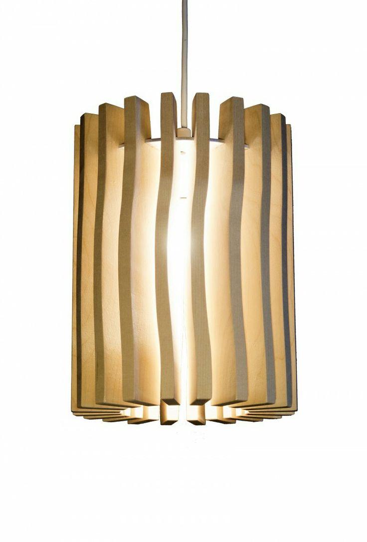 """Our wooden lamp called """"Ukko"""". Finnish birch"""