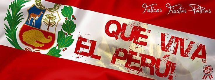 Tengo el orgullo de haber nacido en esta tierra maravillosa. Felices fiestas patrias!!!  #Perú