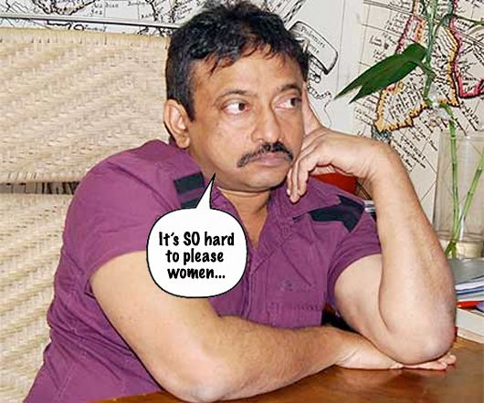 The Ladies are NOT Happy With Ram Gopal Varma!