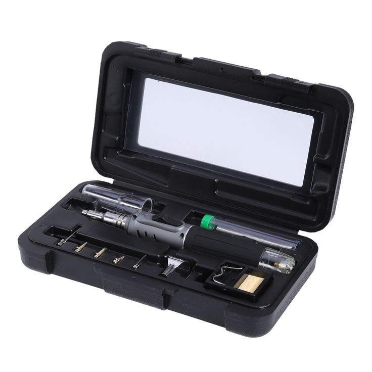 HS-1115K Self-ignition 10 In 1 Gas Soldering Iron Cordless Welding Torch Kit Tool  Ignition Butane Gas Soldering Iron