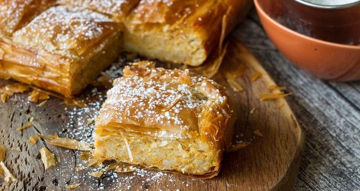 Κολοκυθόπιτα γλυκιά | Sweet Pumpkin Pie