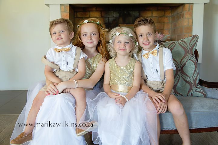 wedding children