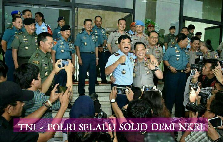 TNI  POLRI Solid Demi NKRI Dan Masyarakat Indonesia