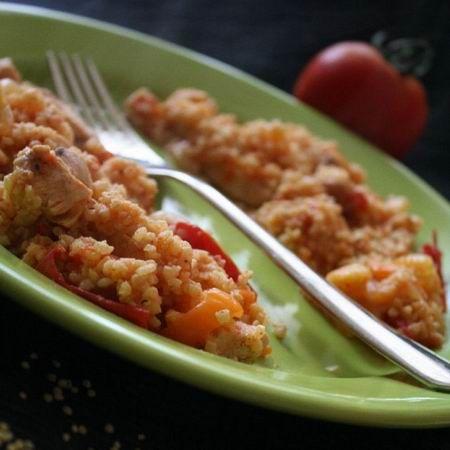 Lecsós-csirkés köles Recept képpel - Mindmegette.hu - Receptek