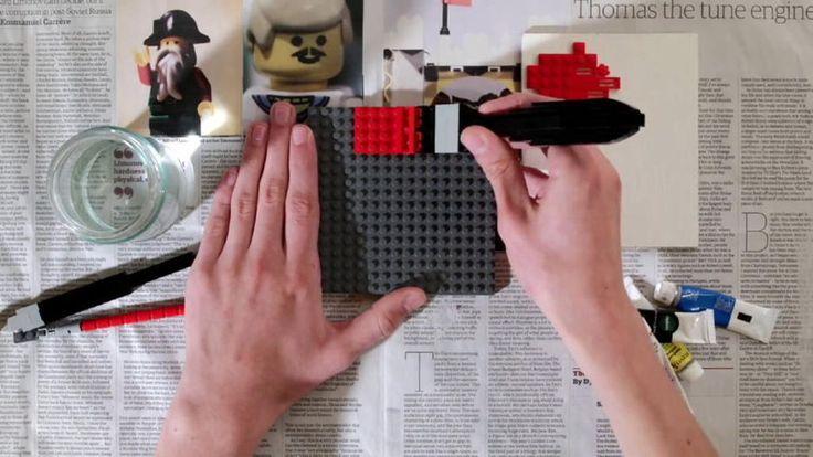 Video: Zo schilder je met legoblokjes