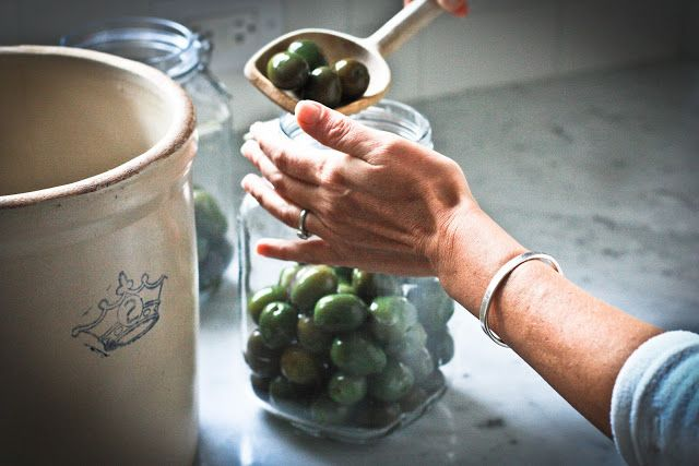 Feasting at Home: How to Cure Olives