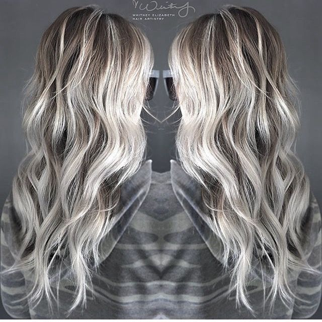 Platinum Blonde Balayage Hair Color Idea: Image Result For Striped Blonde Brown Hair Wig