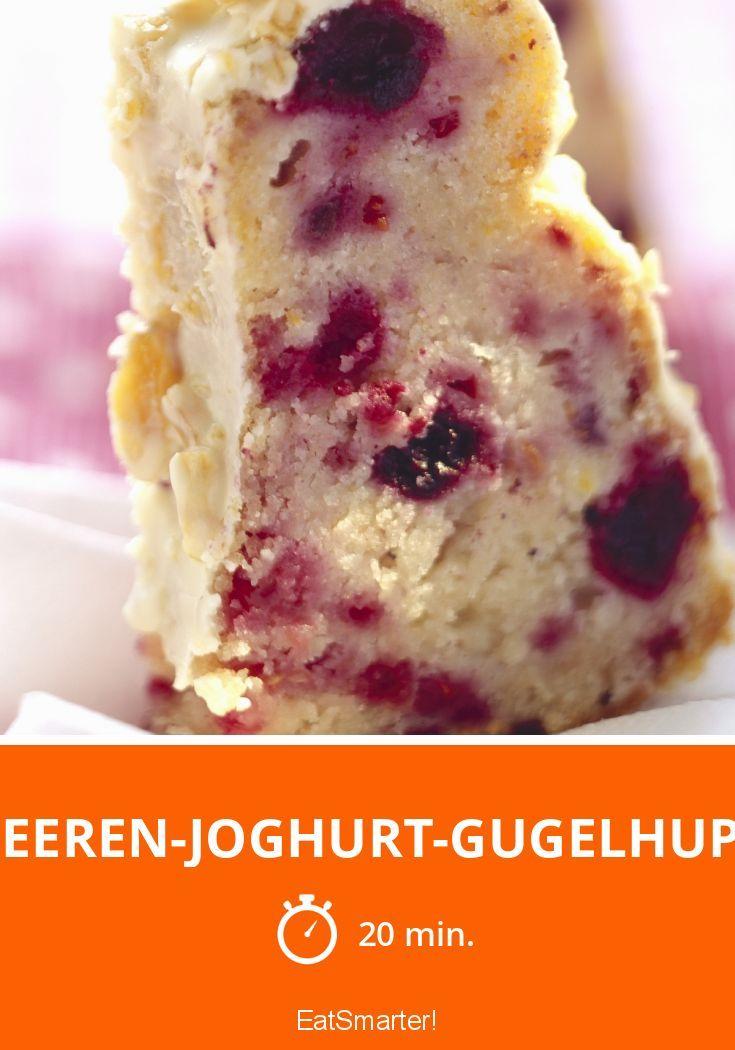 Beeren-Joghurt-Gugelhupf - smarter - Zeit: 20 Min.   eatsmarter.de