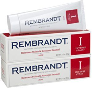 Rembrandt Intense Stain Toothpaste, Mint, 3 Ounce, 2-pack