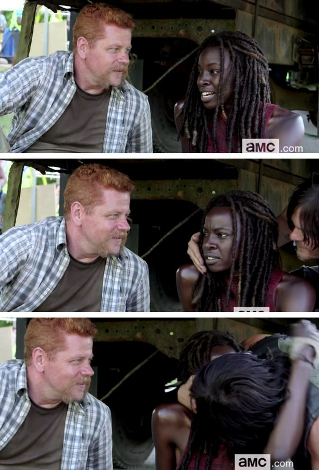 New Video from Behind the Scenes of 'The Walking Dead' Shows Norman Reedus and Danai Gurira Making Out and MORE! | moviepilot.com