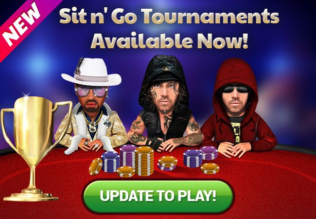 Win more chips on the Sit n' Go tournaments today! Update your App now if you haven't done it yet. New player? Download the App for Free! Android >> http://app.adjust.io/9b3649