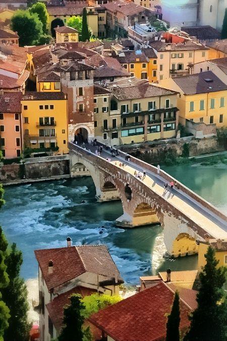 Ponte di Pietra ~Verona, Italy