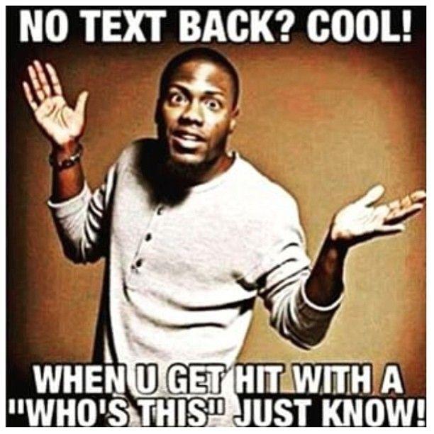 No text back - AMEN!! Just delete his phone# lol