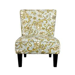 @Overstock - The Portfolio Hali armless chair features a rolled broad back, deep seat cushion and thick foam cushion for extraordinary comfort. The Hali chair is covered in a beautiful floral fabric.http://www.overstock.com/Home-Garden/Portfolio-Hali-Lily-Floral-Blue-Armless-Chair/6807974/product.html?CID=214117 $197.10