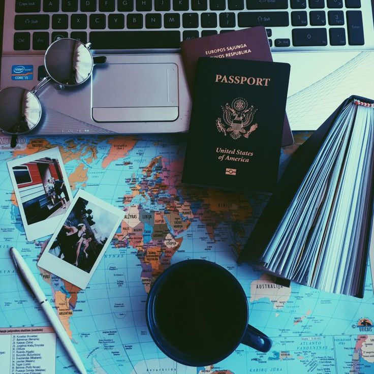 Travel Blogger taKotryna polaroid picture travel couple explore journey paradise wanderlust hippie hipster passport world map paris rome las vegas
