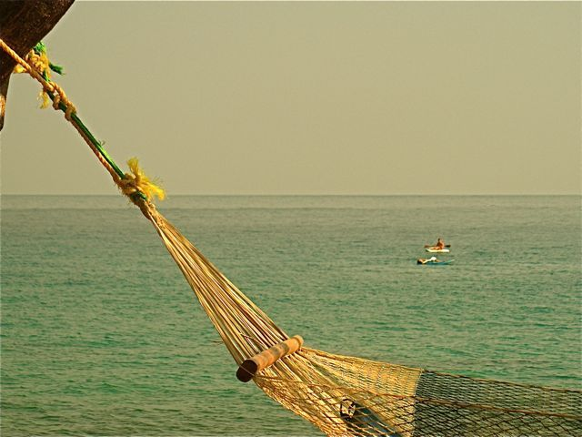 The #hammock #view from outside our tent at #MangoDrift on #LikomaIsland