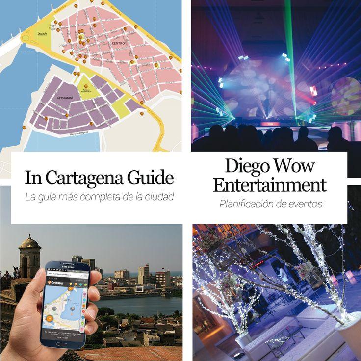 In Cartagena Guide La guía más completa de la ciudad y DIEGO WOW ENTERTAINMENT planificación de eventos http://www.inkomoda.com/recomendados-inkomoda-3/