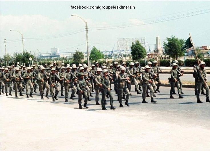 Mersin 1974 Kıbrıs Barış Harekatı.. Mersin Limanı Harekat üstü..