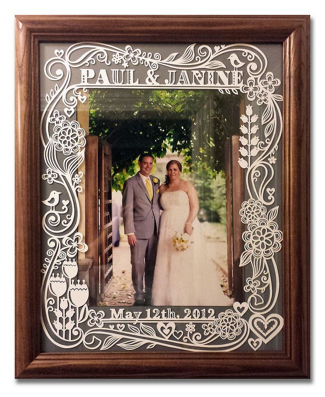 Paper-cut Photo Frame