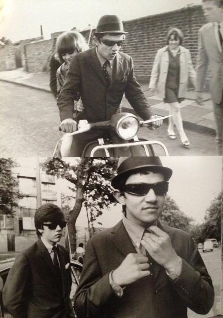 london 1976 1970s mens mod accessories