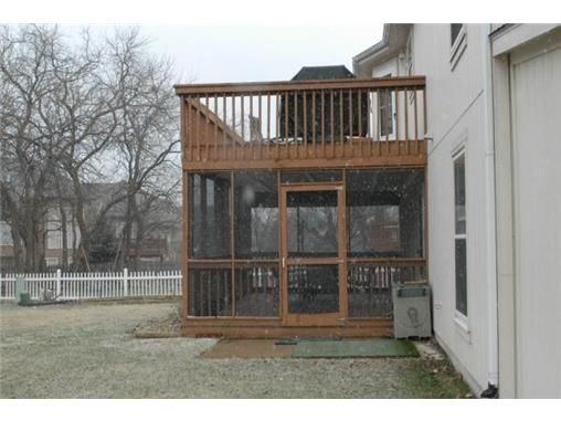 Screened In Porch Under Deck