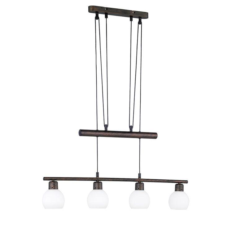 LED-JoJo-Hängelampen höhenverstellbar im Landhausstil