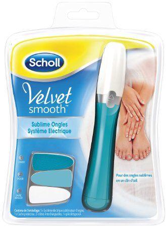 ¡Chollito! Lima de uñas eléctrica Velvet Smooth Dr. Scholl por 29.95 euros. Prepárate para el Verano!