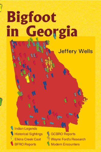 Bigfoot in Georgia: Jeffery Wells explores the mystery of Bigfoot in Georgia from the earliest Native American legends through the latest Bigfoot hoax. He reports on encounters throughout history, the Elkins Creek cast, and the fascinating people who are searching in Georgia today for clues about the elusive creature, better known for its exploits in California and the Pacific Northwest.