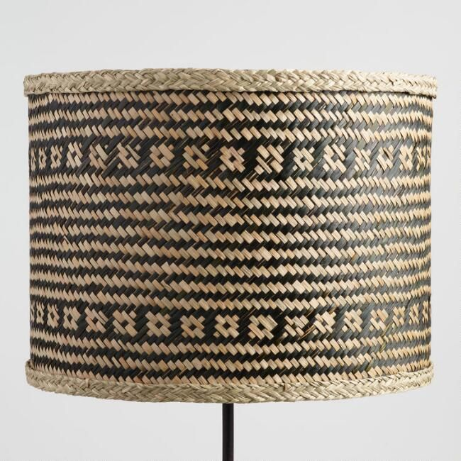 Twine Wrapped Table Lamp Shade Colorful Lamp Shades Lamp Shade