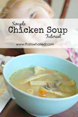 Easy Chicken Soup Tutorial - Earn prizes for building healthy habits!
