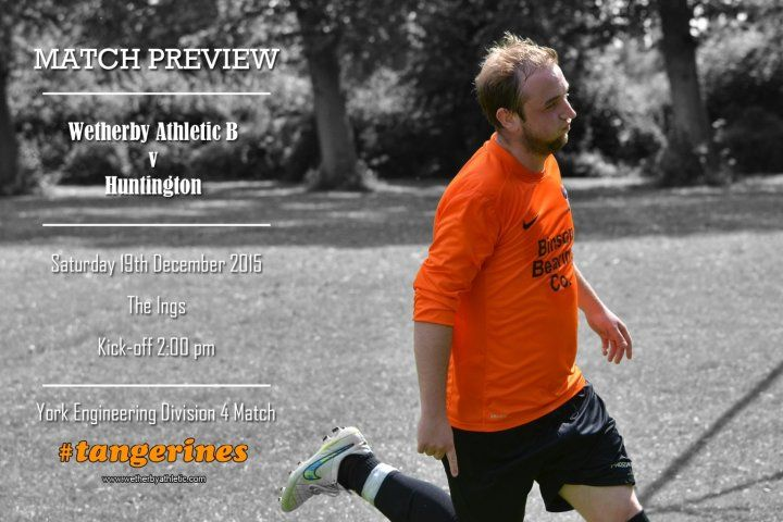 MATCH PREVIEW: Wetherby Athletic B Team - Could We See Football At The Ings? http://www.wetherbyathletic.com/news/match-preview--huntington-1542118.html