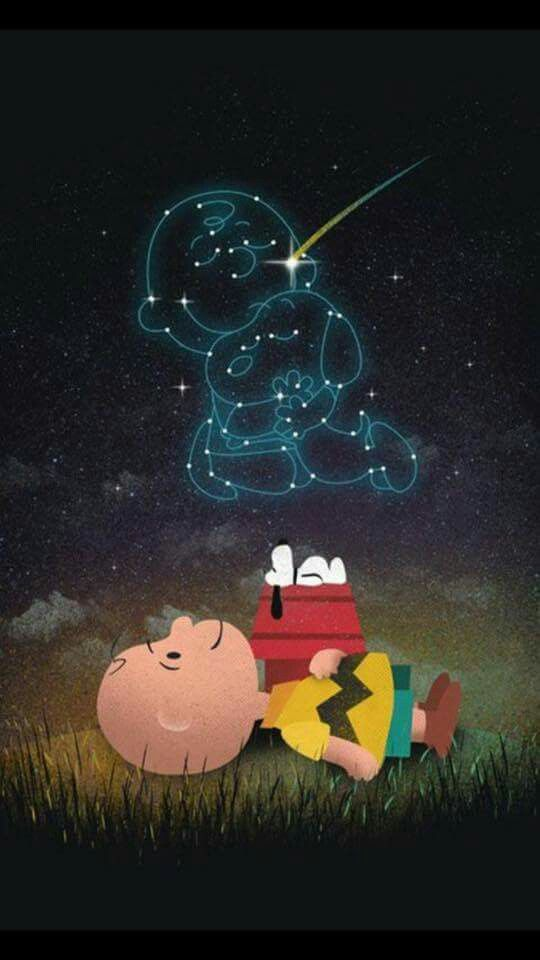 "Good Night! (no words - ""Snoopy and Charlie Brown."") --Peanuts Gang/Snoopy & Charlie Brown"