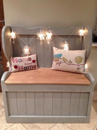 Blanket Storage Box Church Pew Monks Bench Seat Blanket Box Pine Shabby Chic Storage Box Rustic Blanketstorage B In 2019 Shabby Chic Storage Shabby Chic Storage Boxes Shabby Chic Bedrooms