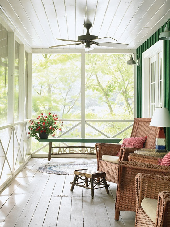 10 best images about screened porch on pinterest front for Screened in porch ideas design