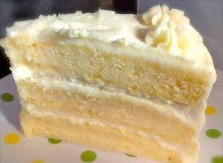 Lemon Cake with Lemon Filling and Lemon Butter Frosting | cooking for you