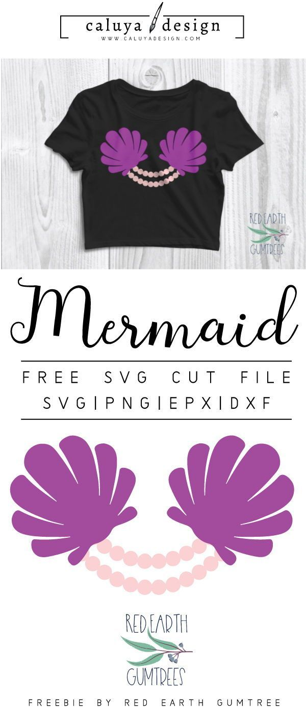 FREE mermaid bra cut file, Printable vector clip art download. Free printable clip art mermaid shell. Compatible with Cameo Silhouette, Cricut explore and other major cutting machines. 100% for personal use, only $3 for commercial use. Perfect for DIY craft project with Cricut & Cameo Silhouette, card making, scrapbooking, making planner stickers, making vinyl decals, decorating t-shirts with HTV and more! Free SVG cut file, free marmaid, seashell and perl svg file #diytshirt