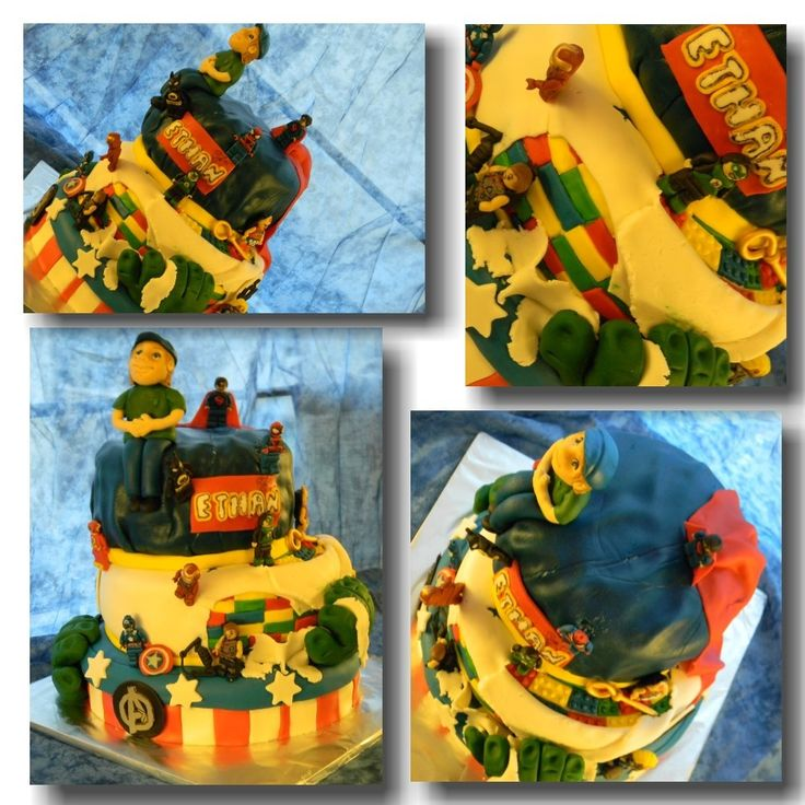 My sons 9th birthday cake