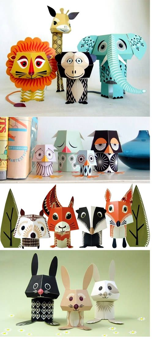Mibo Make your own animal decorations by Madeleine Rogers