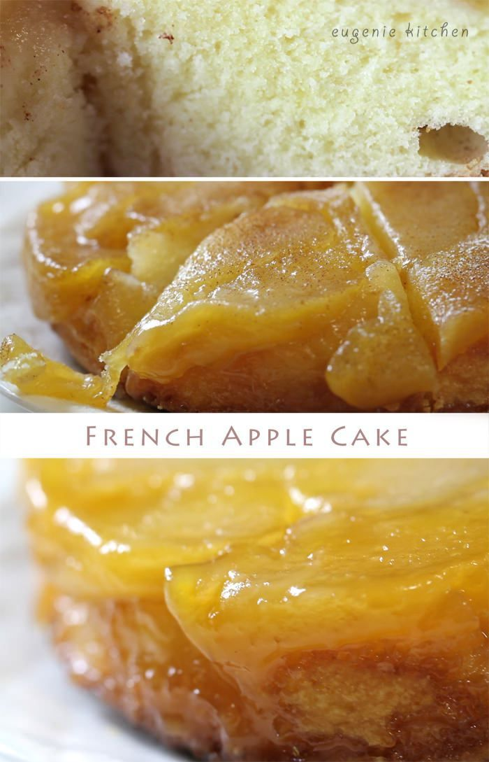 Today I am going to make French apple cake, quatre-quarts aux pomme. Quatre-quarts means four quarters: a quarter four, a quarter sugar, a quarter butter, and a quarter eggs. First I will make caramelized apples, and then I will add in quatre quarts batter. It is very easy to make and it's delicious. Subscribe for more videos. French Upside-Down …