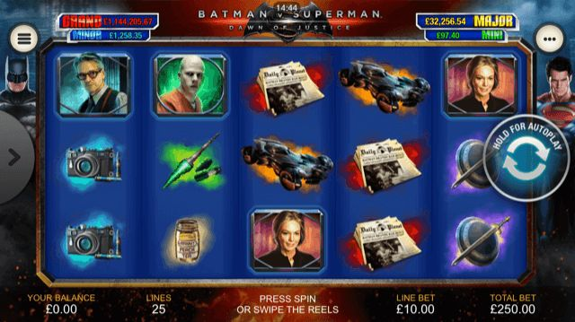 Batman v Superman: Dawn of Justice Slot Review | Playtech