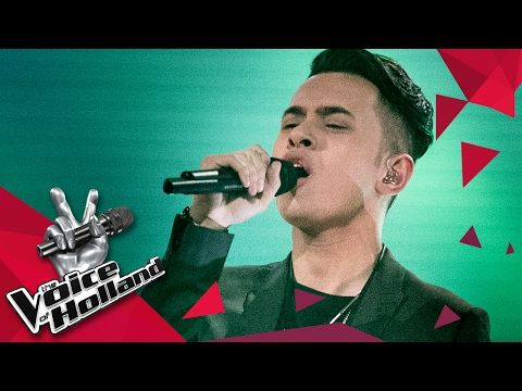 Vinchenzo Tahapary – Say You Won't Let Go (The voice of Holland 2017 | The Final) - YouTube